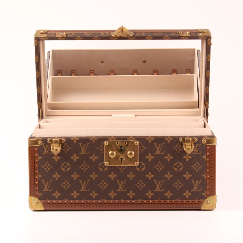 malle louis vuitton vanity case gm monogram i cbl bags. Black Bedroom Furniture Sets. Home Design Ideas