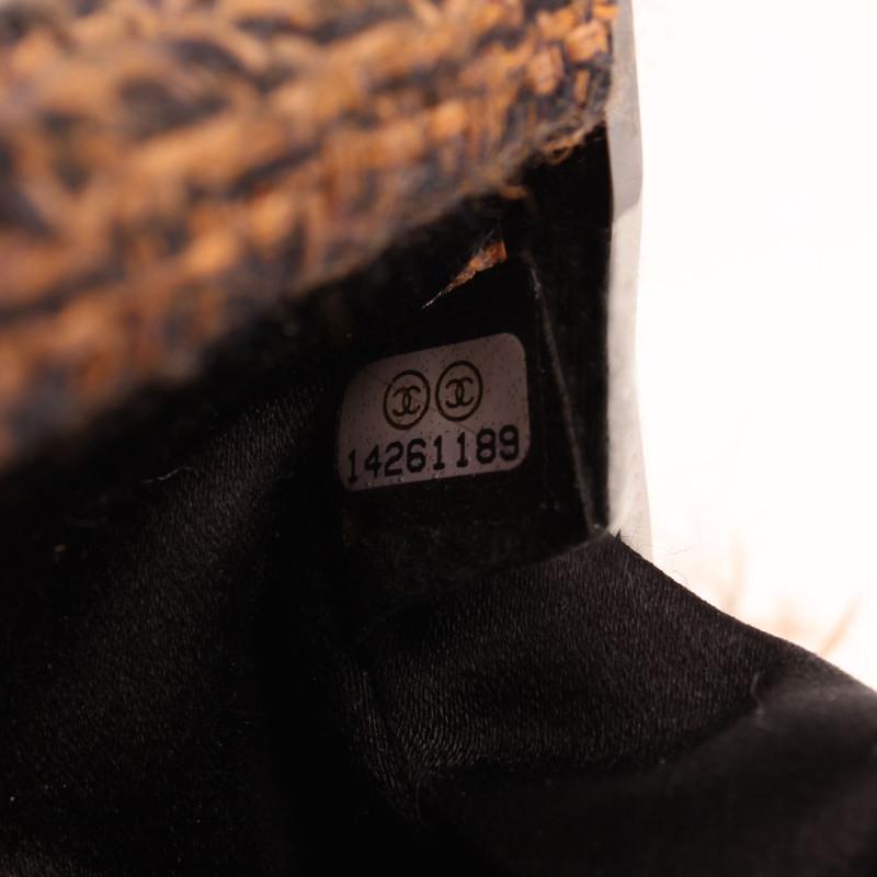 Furry Tweed Wallet