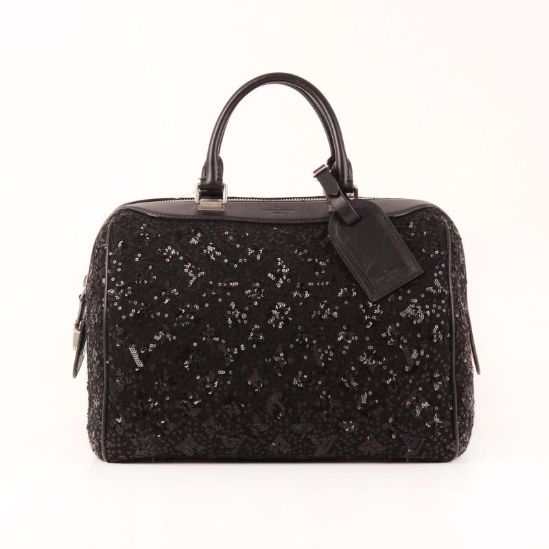 Très Louis Vuitton Bag Speedy Sequin Sunshine Express Monogram DG68