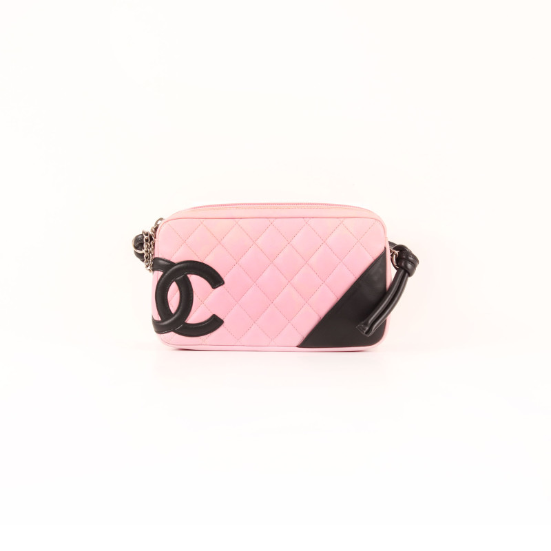 Cambon Quilted Pochette Rosa