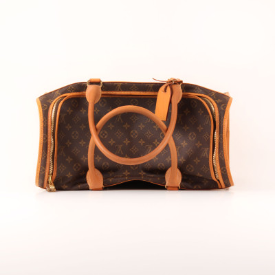 Louis Vuitton Dog Carrier 50 Monogram