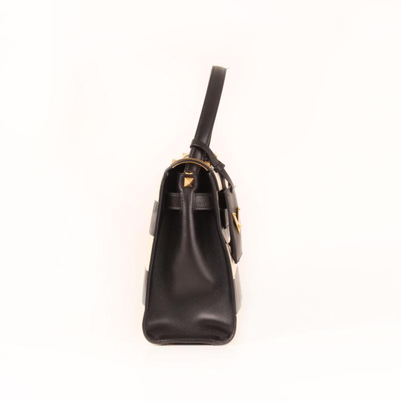 My Rockstud Striped Tote Bag
