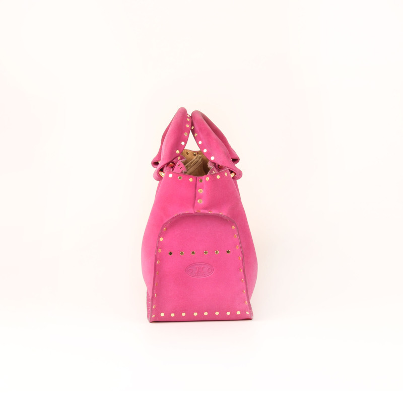 Bolso Studded Suede Boogie