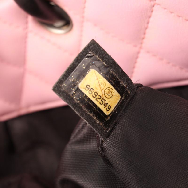 CC Logo Cambon Tote Shopping Pink