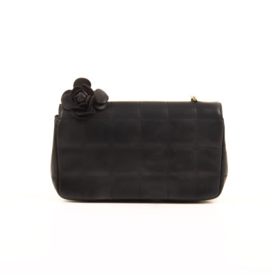 Chanel Navy Blue Chocolate Bar Mini Crossbody