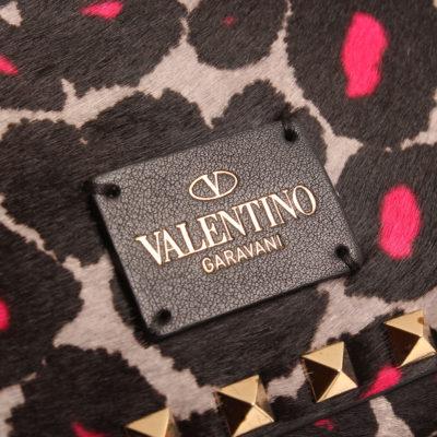 Rockstud Mini Pink Leopard Print