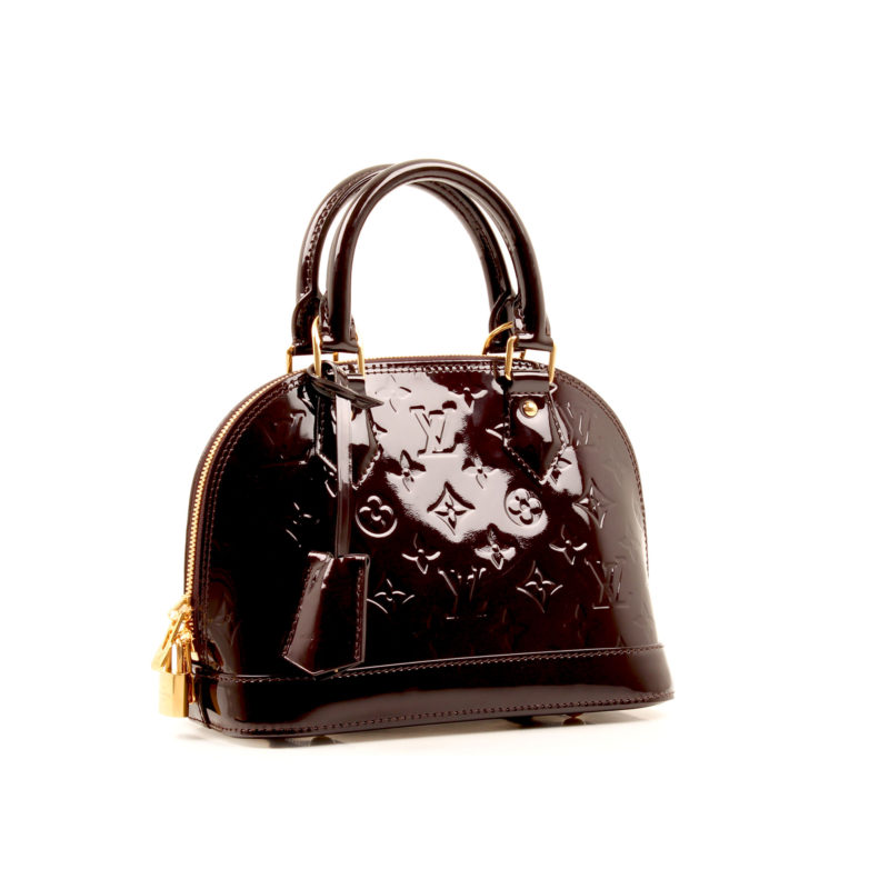 Louis Vuitton Bag Alma Bb Patent Monogram