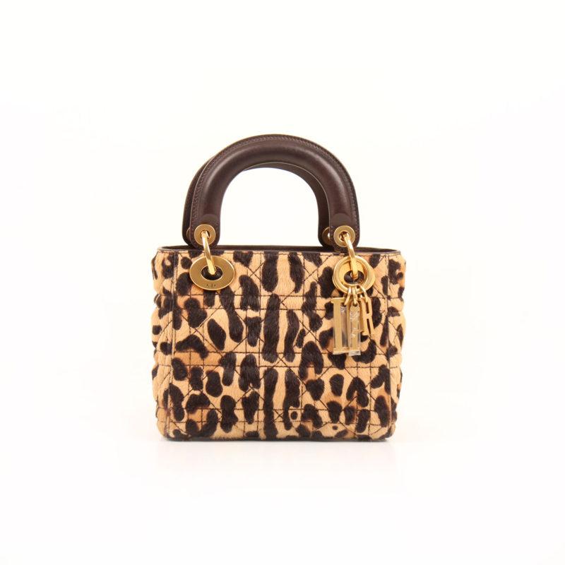 Lady Dior Mini Leopard Print